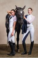 Riding Show Shirt DAME - Short Sleeve, Technical Equestrian Apparel