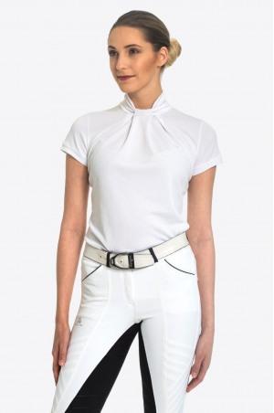 Riding Show Shirt FESTIVE - Short Sleeve, Technical Equestrian Apparel