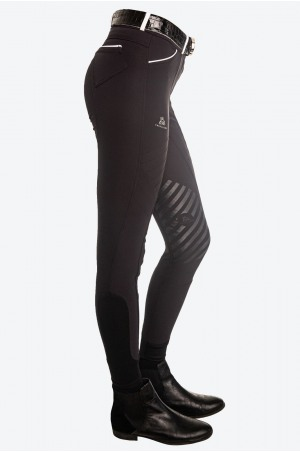 Riding Technical Breeches ROYAL RIDE J- Knee Patch Silicon, Technical Equestrian Apparel