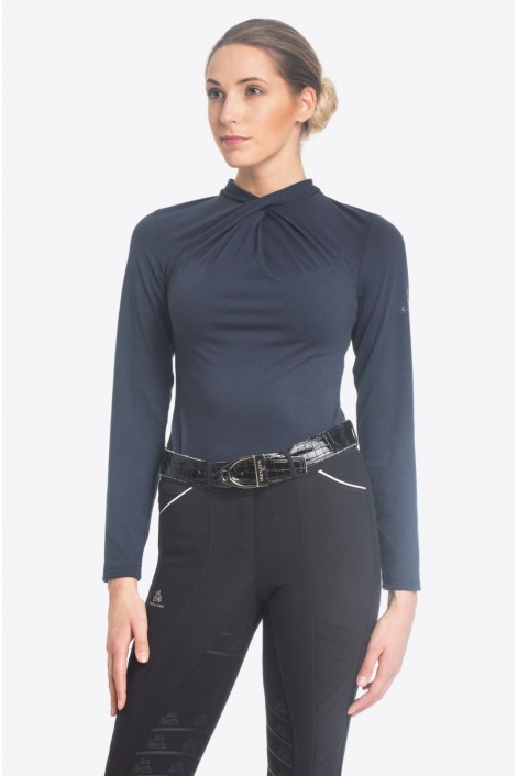 Riding Top CASUAL CHIC - Long Sleeve, Equestrian Apparel