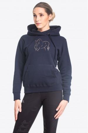 Худи для верховой езды ROSE GOLD - спецодежда для конного спорта из хлопчатобумажной ткани