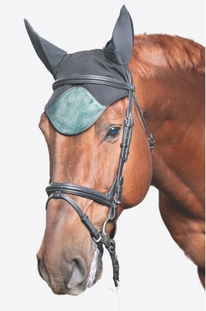 Technical Horse Ear Bonnets DUSTY GREEN - Short Version