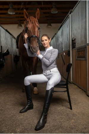 Riding Show Shirt UNIVERSE - Long Sleeve, Equestrian Apparel