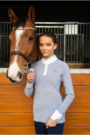 Riding Show Shirt UNIVERSE - Long Sleeve, Equestrian Apparel