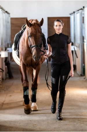 Riding Top ANGEL - Short Sleeve, Technical Equestrian Apparel
