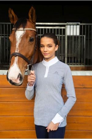 Riding Show Shirt UNIVERSE - Short Sleeve, Equestrian Apparel