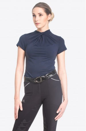 Riding Top CASUAL CHIC - Short Sleeve, Equestrian Apparel
