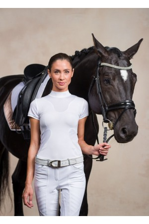Riding Show Shirt HIGH STYLE - Short Sleeve, Technical Equestrian Apparel