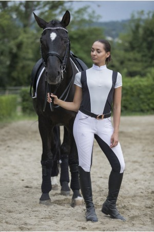 Riding Show Shirt FLAIR - Short Sleeve, Technical Equestrian Apparel
