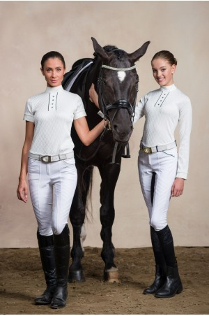 Riding Show Shirt FATALITY - Long Sleeve, Technical Equestrian Apparel
