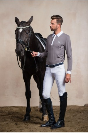 Riding Show Shirt GENTLEMAN - Long Sleeve, Technical Equestrian Apparel