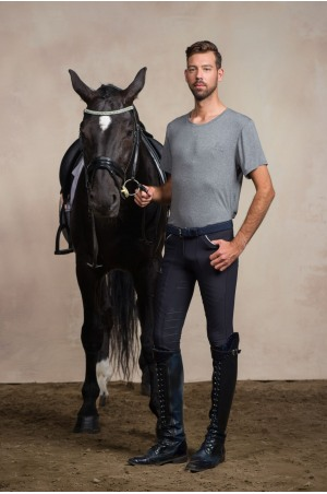 Riding Top Short Sleeve - GRANDEUR MEN Equestrian Apparel