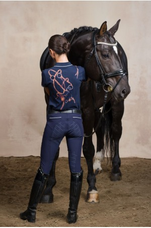 Riding Polo Shirt - LUXURY PIQUE, Equestrian Apparel