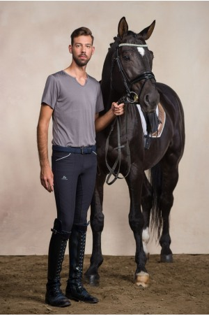Riding Top Short Sleeve - MEN STYLE Equestrian Apparel