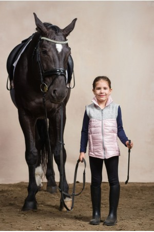 Riding Vest with Waterproof Inserts - MAJESTY KIDS, Equestrian Apparel