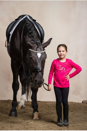 Riding Top for Kids Long Sleeve - SPARKLE, Equestrian Apparel