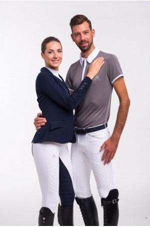 Riding Show Shirt GENTLEMAN - Short Sleeve, Technical Equestrian Apparel