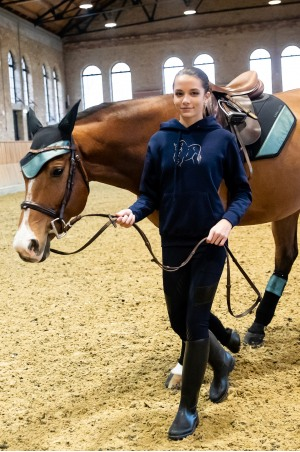 Riding Hoodie ROSE GOLD - Technical Equestrian Apparel