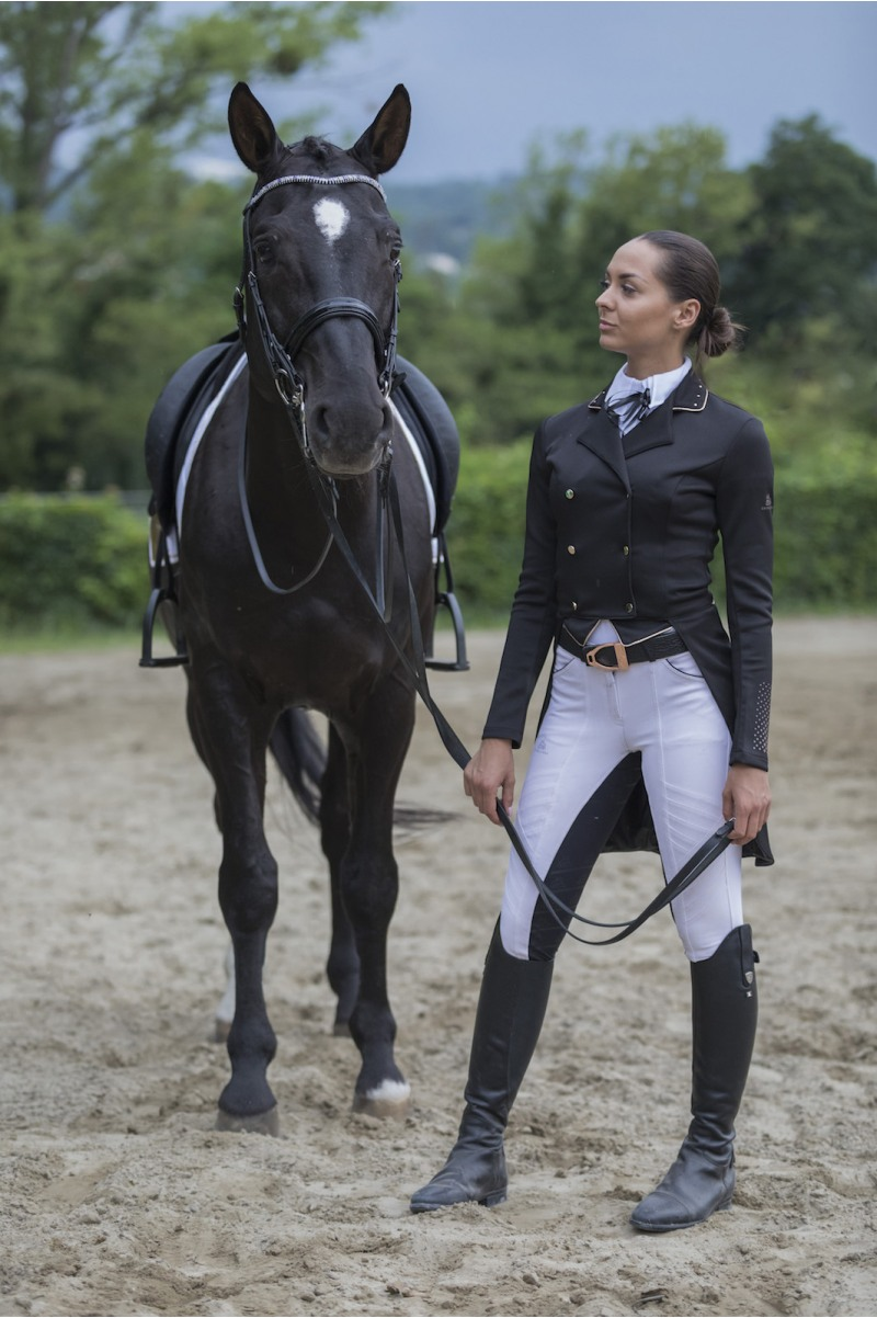 Dressage Tailcoat Rose Gold Second Skin Tech Cavalliera