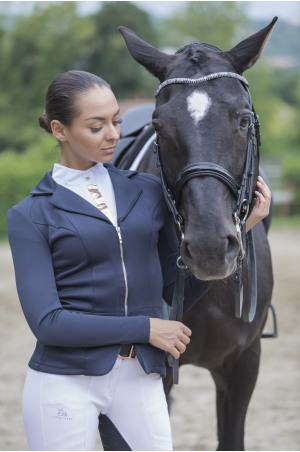 Riding Show Shirt ROSE GOLD - Long Sleeve. Technical Equestrian Apparel