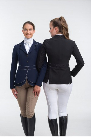 Riding Show Jacket VENICE - DOUBLE FRONT PANEL TECHNOLOGY Softshell, Technical Equestrian Show Apparel