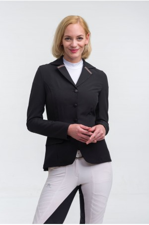Riding Show Jacket ROSE GOLD PURITY - Softshell, Technical Equestrian Show Apparel