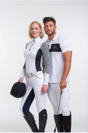 Riding Show Shirt JET SET - Long Sleeve, Technical Equestrian Apparel