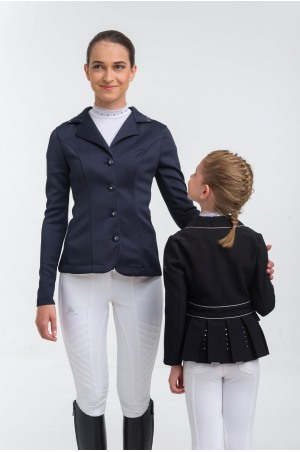 Riding Show Jacket CRYSTAL PURITY KIDS - Softshell, Technical Equestrian Show Apparel