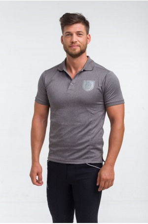 High Performance Riding Technical Pique Polo CAPITAL MAN - Short Sleeve, Equestrian Apparel