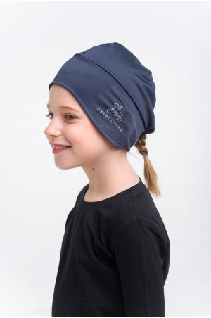 High Performance Riding Hat PONYTAIL KIDS - Equestrian Accessories