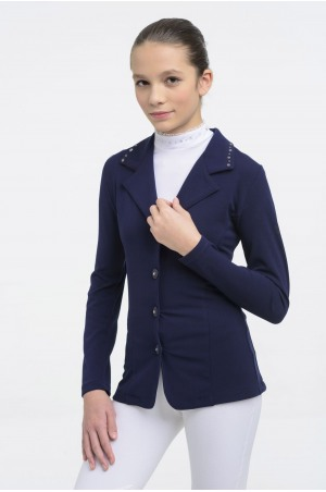 Riding Show Jacket  CRYSTAL KIDS - SECOND SKIN TECHNOLOGY, Softshell, Technical Equestrian Apparel