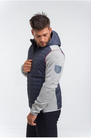 Knitted Riding Jacket with Waterproof Inserts - CAPITAL MAN, Technical Equestrian Apparel