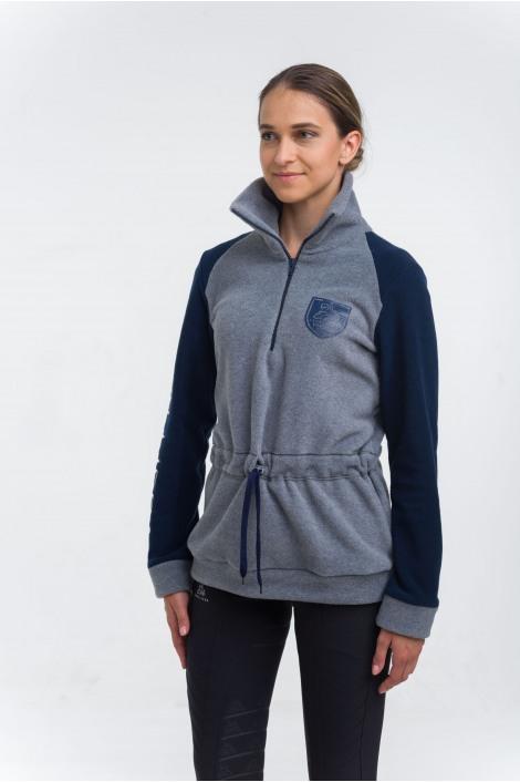 Fleece Turtle Neck Sweater  - MADISON, Equestrian Apparel