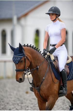 Riding Show Shirt ANGEL - Short Sleeve, Technical Equestrian Show Apparel