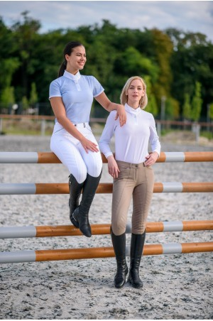 Riding Show Shirt PALAIS ROYAL - Long Sleeve, Equestrian Show Apparel