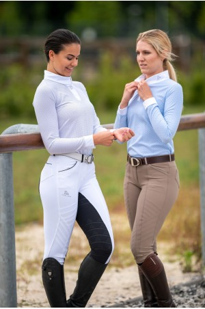 Riding Show Shirt PALAIS ROYAL - Long Sleeve, Equestrian Show Apparel