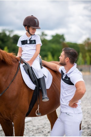 Riding Show Shirt Men LOGAN - Short Sleeve, Equestrian Show Apparel