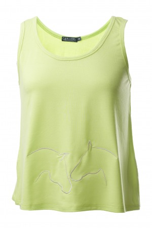 161-130302 VOLANCE Cropped Tank Top