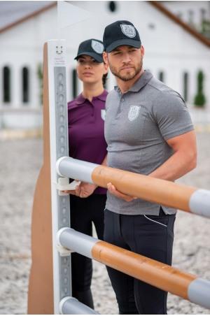 High Performance Riding Technical Pique Polo CAPITAL MAN - Short Sleeve, Equestrian Apparel