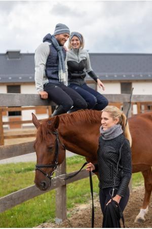 Elegant Knitted Beanie DEVON MAN, Equestrian Accessories
