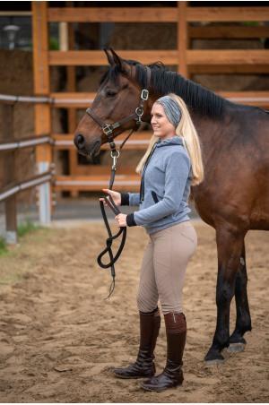 Riding Ear-Warmer PONYTAIL 'W' Equestrian Apparel