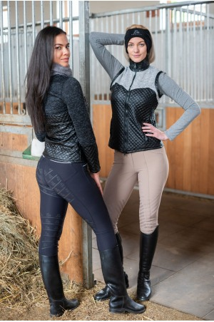 Knitted Riding Jacket with Waterproof Inserts - CAPITAL, Technical Equestrian Apparel