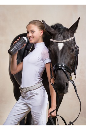Riding Show Shirt CONTESSA - Short Sleeve, Technical Equestrian Show Apparel