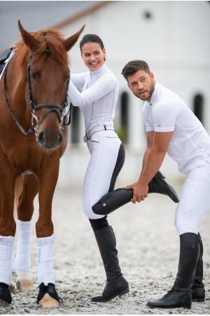 High Performance Riding Show Shirt TOSCA, Long Sleeve, Technical Equestrian Show Apparel
