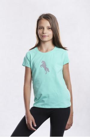 162-201101 UNICORN Short Sleeve Top for Kids