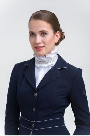 Riding Stock Tie PLEATED TIARA- Equestrian Accessories