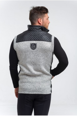 Knitted Riding Vest with Waterproof Inserts - CAPITAL MAN