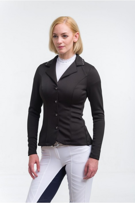 Riding Show Jacket  CRYSTAL - SECOND SKIN TECHNOLOGY, Softshell, Technical Equestrian Show Apparel