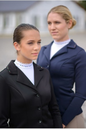 Riding Show Jacket  CUSTOMIZED CRYSTAL - SECOND SKIN TECHNOLOGY, Softshell, Technical Equestrian Show Apparel