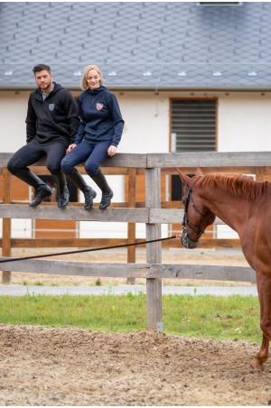 High Performance Riding Hoodie MILO MAN - Equestrian Apparel